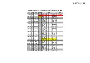 下半期日程表 改訂版(HP用)のサムネイル